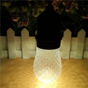 S14 LED Bulb Faceted Warm