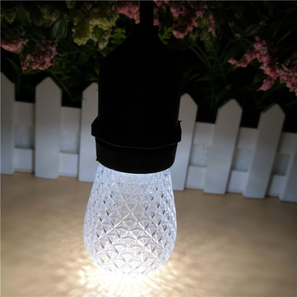 S14 LED Bulb Faceted white
