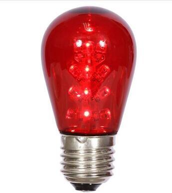 S14 LED BULB RED