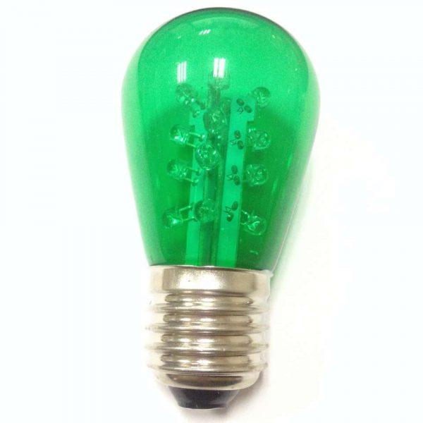 S14 LED LAMP GREEN