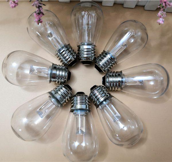 Clear LED S14 Bulb